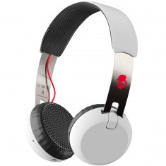 Skullcandy Grind Wireless Headphones - White/Black/Red