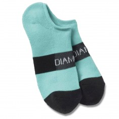 Diamond Supply Co. No Show Futura Socks - Diamond Blue/Black