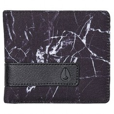Nixon Showoff Bi-Fold Wallet - Marbled Black Smoke