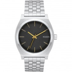 d7b4e758317c0f Nixon Time Teller Watch - Black Stamped/Gold