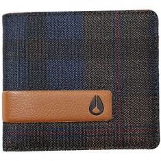 Nixon Showoff Bi Fold Wallet - Plaid