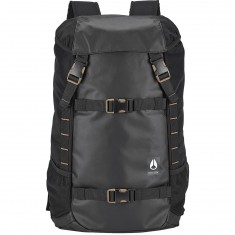 Nixon Landlock III Backpack - All Black Nylon
