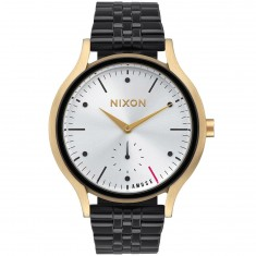 Nixon X Amuse Society Sala Womens Watch - Light Gold / Black