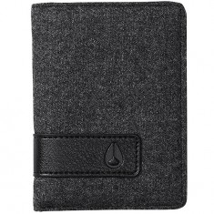 Nixon Showup Card Wallet - Charcoal / Black