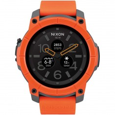 Nixon Mission Watch - Orange/Grey/Black