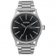 Nixon Sentry SS Watch - Black Sunray