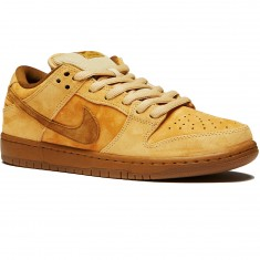 Nike SB Wheat Dunk Low QS Shoes - Dune/Wheat Gum/Brown