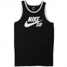 Nike SB Ringer Tank Top - Black/White