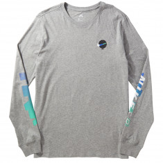 Nike SB Globe Long Sleeve T-Shirt - Dark Grey Heather