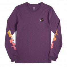 Nike SB Globe Long Sleeve T-Shirt - Pro Purple