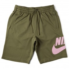 Nike SB Sunday Dry Shorts - Medium Olive/Elemental Pink