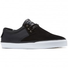 Lakai Daly Shoes - Black Suede/Black Leather