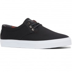 Lakai Daly Shoes - Black Canvas