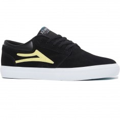 Lakai Griffin Shoes - Black/Yellow Suede