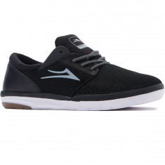 Lakai Fremont Shoes - Black/White Mesh