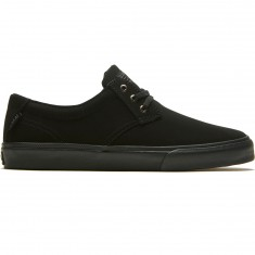 Lakai Daly Shoes - Black/ Black Nubuck