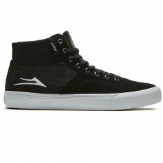 Lakai Flaco High Shoes - Black Suede