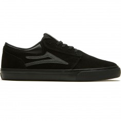 Lakai Griffin Shoes - Black/Black Suede