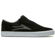 Lakai X Girl Griffin Shoes - Black/Grey Suede