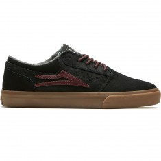 Lakai Griffin WT Shoes - Black/Gum Oiled Suede
