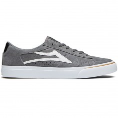 Lakai Ellis Shoes - Grey/White Suede
