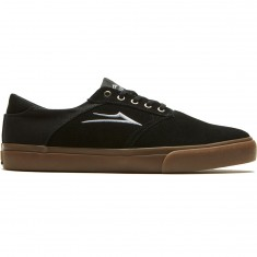 Lakai Porter Shoes - Black/Gum Suede