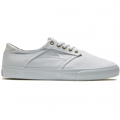 Lakai Porter Shoes - White White Canvas 55a549071