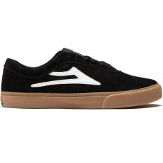 Lakai Sheffield Shoes - Black/White Suede