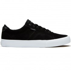 Lakai Flaco Shoes - Black/Charcoal Suede
