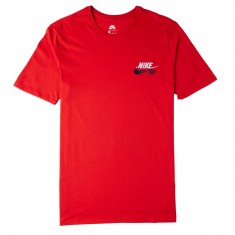Nike SB Futura T-Shirt - University Red/White/Obsidian