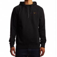 Nike SB Icon HZ GFX Hoodie - Black/Circuit Orange