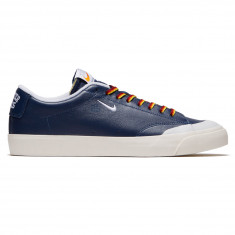 Nike SB x Quartersnacks Zoom Blazer Low XT Shoes - Navy/White Sail
