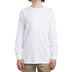 Nike SB Dry Long Sleeve T-Shirt - White/White