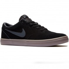 Nike SB Check Solarsoft Shoes - Black/Gum/Brown/Anthracite