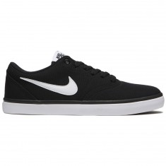 Nike SB Check Solarsoft Shoes - Black/White