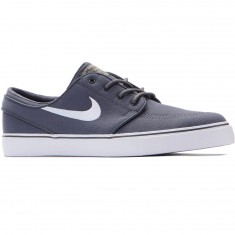 Nike Zoom Stefan Janoski Canvas Shoes - Dark Grey/White Gum/Light Brown