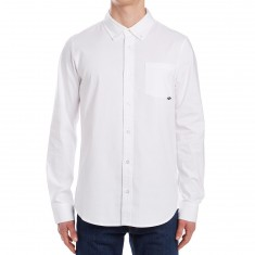 Nike SB Flex Long Sleeve Oxford Shirt - White