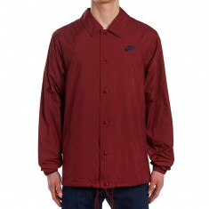 Nike SB Shield Coaches Jacket - Dark Team Red/Obsidian