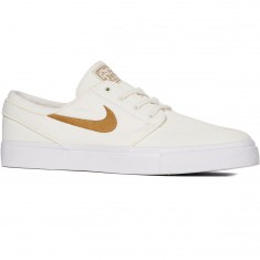 Nike Zoom Stefan Janoski Canvas Shoes - Sail/Golden Beige