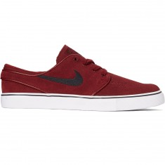 Nike Zoom Stefan Janoski Shoes - Dark Team Red/Black