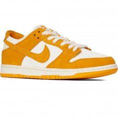 Nike SB Zoom Dunk Low Pro Shoes - Circuit Orange/Sail