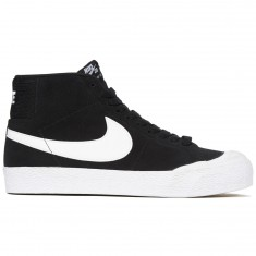 Nike SB Zoom Blazer Mid XT Shoes - Black/White Gum/Brown