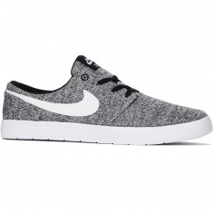 Nike SB Portmore II Ultralight Shoes - Black/White/Wolf Grey
