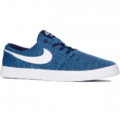 Nike SB Portmore II Ultralight Shoes - Binary Blue/White/Star Blue