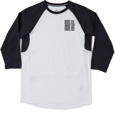 Nike SB Dry 3 Quarter GFX T-Shirt - White/Anthracite