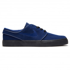 602018536746 Nike Zoom Stefan Janoski Shoes - Blue Void Blue Void Black