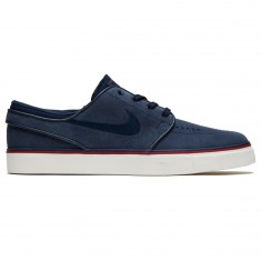 Nike SB Air Zoom Stefan Janoski Women's Shoes - Obsidian/Dark Obsidian/Team Red