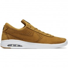 Nike SB Air Max Bruin Vapor Leather Shoes - Wheat/Baroque Brown