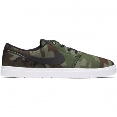 Nike SB Portmore II Ultralight Shoes - Black/Black/White