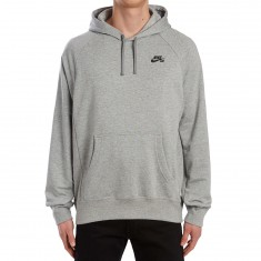 Nike SB Everett Hoodie - Dark Grey Heather/Black